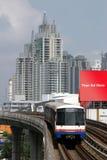 Trein in Bangkok, Thailand Royalty-vrije Stock Afbeeldingen