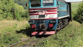 Trein-diesel stock footage