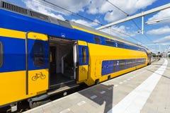 Trein Holland stock afbeelding