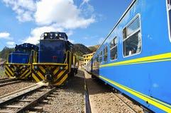 Trein - Peru stock foto