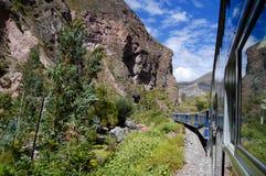 Trein - Peru royalty-vrije stock afbeeldingen