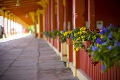 Trein-post Stock Foto