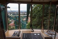 Trein Standseilbahn Dresden Stock Afbeelding