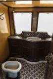 Trein Tunesië royalty-vrije stock afbeelding
