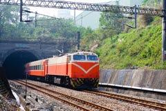 Trein van Taiwan royalty-vrije stock foto's