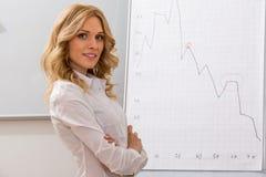 Treinador do negócio Fotografia de Stock