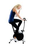 Treinamento da bicicleta Imagens de Stock