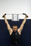 treinamento da ginástica da aptidão Foto de Stock