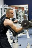 treinamento da ginástica da aptidão Fotografia de Stock