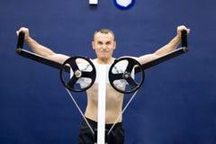 treinamento da ginástica da aptidão Fotografia de Stock Royalty Free