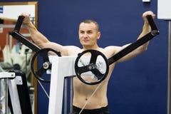 treinamento da ginástica da aptidão Imagens de Stock Royalty Free