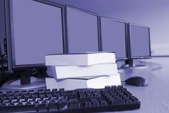 Treinamento de computador Imagem de Stock Royalty Free
