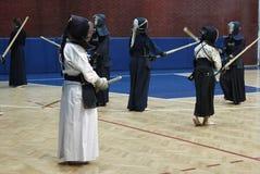 Treinamento de Kendo Fotos de Stock Royalty Free