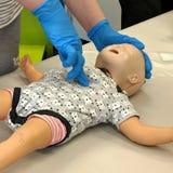 Treinamento do CPR imagens de stock