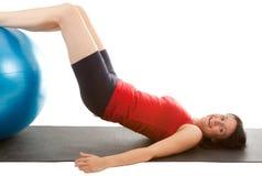 Treinamento do músculo Fotos de Stock