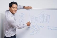 Treinamento do negócio imagem de stock