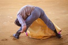 Treinamento do toureiro Foto de Stock Royalty Free