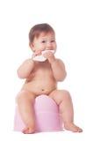 Treinamento esperto do urinol imagens de stock royalty free