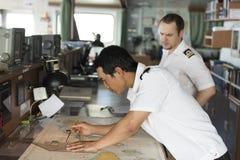 Treinamento marítimo Foto de Stock