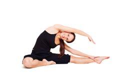 Treinamento vívido desportivo da mulher Fotografia de Stock Royalty Free