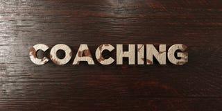 Treinar - título de madeira sujo no bordo - 3D rendeu a imagem conservada em estoque livre dos direitos ilustração royalty free