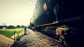 Treinauto's Stock Fotografie