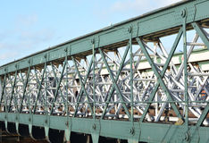 Treinbrug Stock Foto
