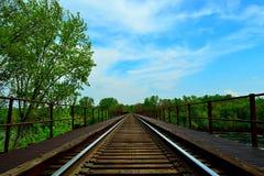 Treinbrug Stock Afbeelding