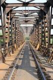 Treinbrug Royalty-vrije Stock Afbeeldingen