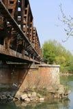 Treinbrug Royalty-vrije Stock Foto's