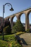 Treinbrug van Vouzela, Viseu royalty-vrije stock afbeeldingen