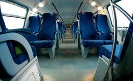 Treine assentos Imagem de Stock