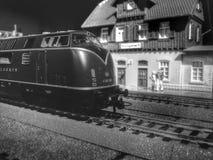 Treine a locomotiva Imagens de Stock