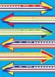 Treinen vector illustratie