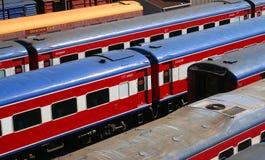 Treinen Royalty-vrije Stock Afbeelding