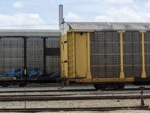 treinen stock fotografie