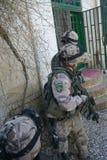Treino militar de Afeganistão fotos de stock