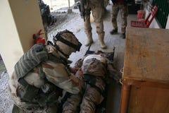 Treino militar de Afeganistão imagens de stock