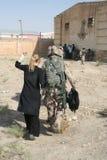 Treino militar de Afeganistão fotos de stock royalty free