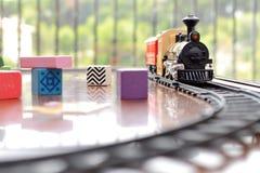 Treinstuk speelgoed Royalty-vrije Stock Foto