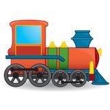 Treinstuk speelgoed Vector Royalty-vrije Stock Fotografie
