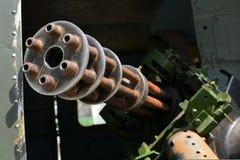 Treinta Gatling-arma Tankbuster del milímetro GAU Imágenes de archivo libres de regalías