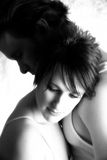 Étreinte de couples Photos stock