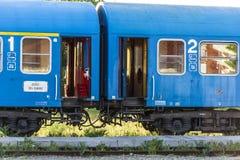 Treinwagen royalty-vrije stock afbeeldingen