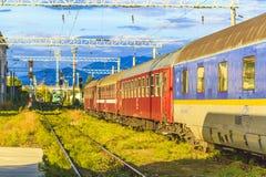 Treinwagen stock fotografie