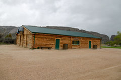 The Trek Center at Martin's Cove, Wyoming Stock Photography