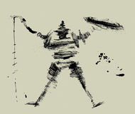 Trek Don Quichot aan Stock Afbeeldingen