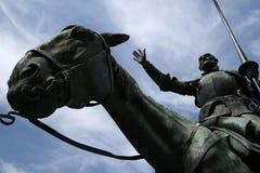 Trek Don Quichot aan Stock Fotografie