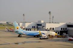 Trek Internationale Luchthaven Mueang aan Royalty-vrije Stock Afbeeldingen