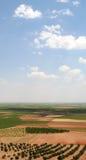 Trek Land Quijote aan Royalty-vrije Stock Foto's